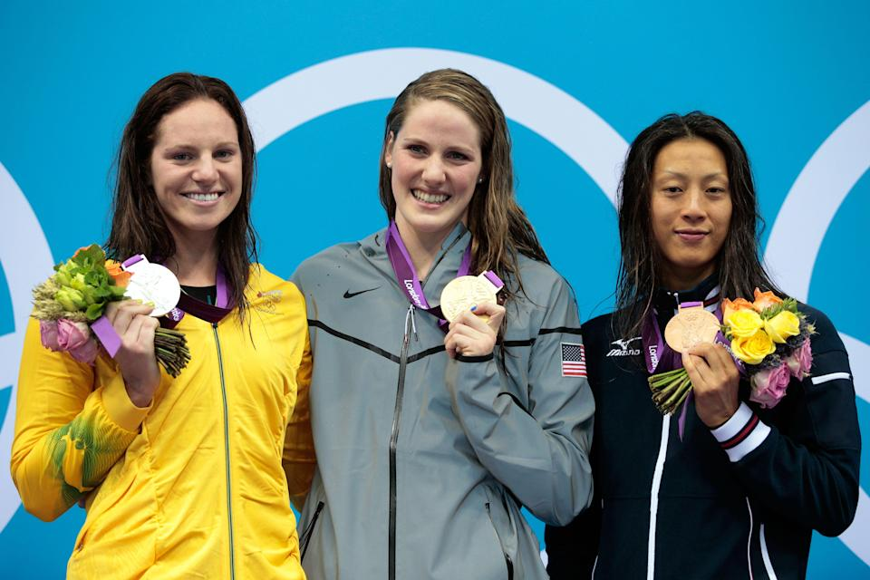 Seebohm was beaten to gold by Missy Franklin at London 2012 (Getty Images)