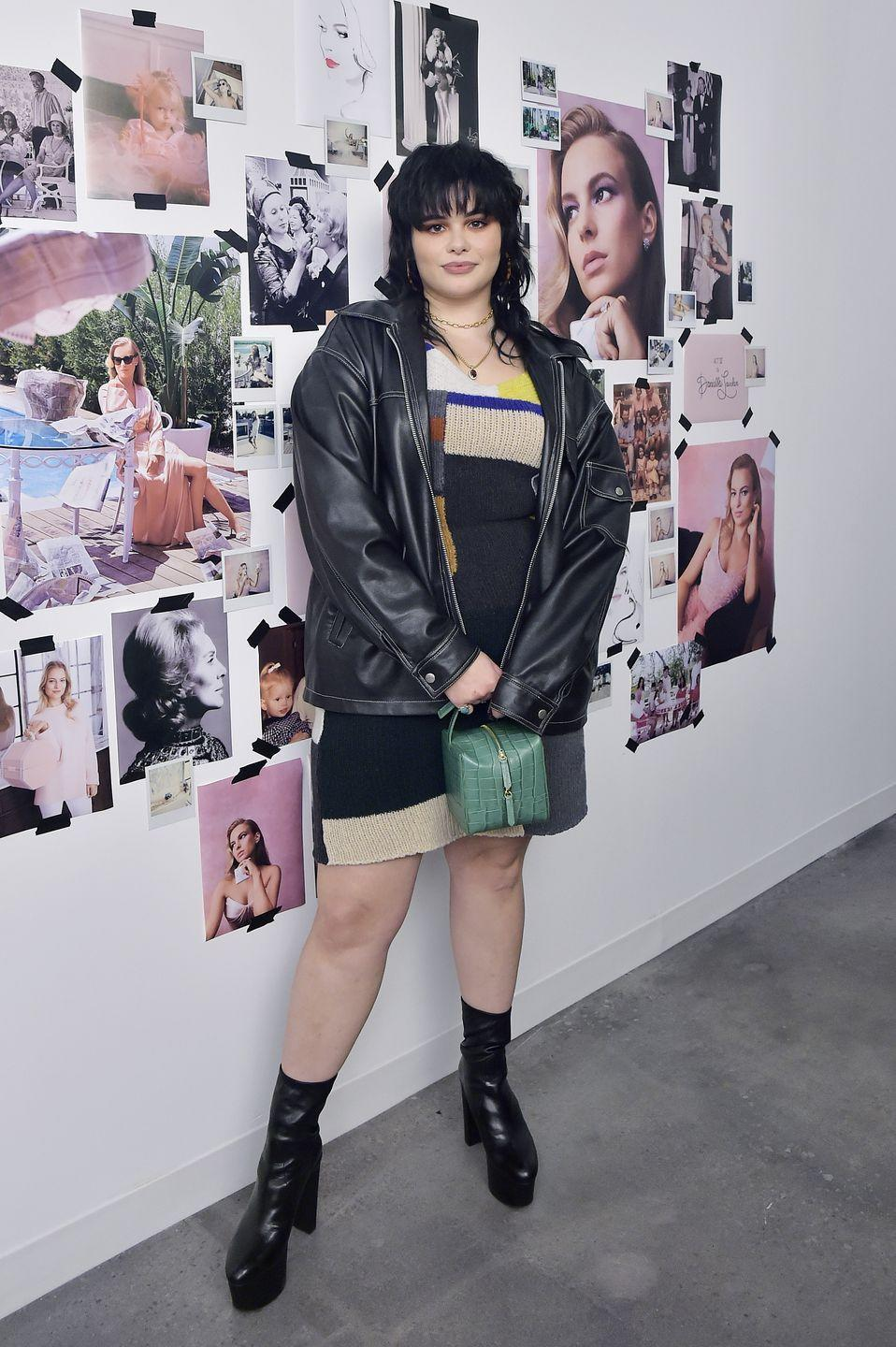 """<p>If at any given time you find yourself in need of a style overhaul, just type the name """"Barbie Ferreira"""" into Google. The girl has the ultimate chill-meets-edgy style. Just take his look for example – the artsy knit and leather jacket make for the perfect winter uniform.<br><br></p>"""