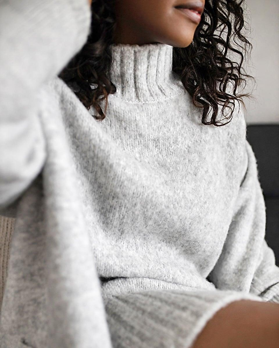 <p>This <span>Express X You Mock Neck Sweater Dress</span> ($88) will feel like a warm hug.</p>