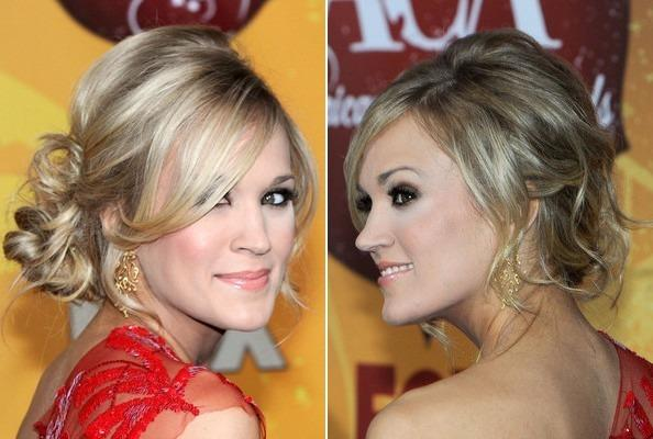 How To Get Carrie Underwood S Stunning Side Swept Updo