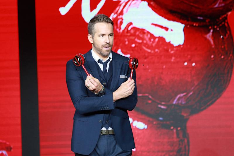 BEIJING, CHINA - JANUARY 20: Canadian-American actor Ryan Reynolds attends the premiere of 'Deadpool 2' on January 20, 2019 in Beijing, China. (Photo by VCG/VCG via Getty Images)