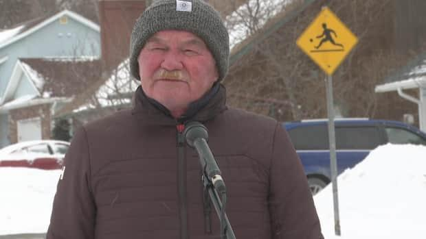 Don Read says he has concerns about the potential increase in traffic. (CBC News - image credit)