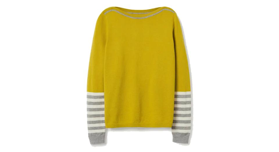 Dunmore Boat Neck Jumper