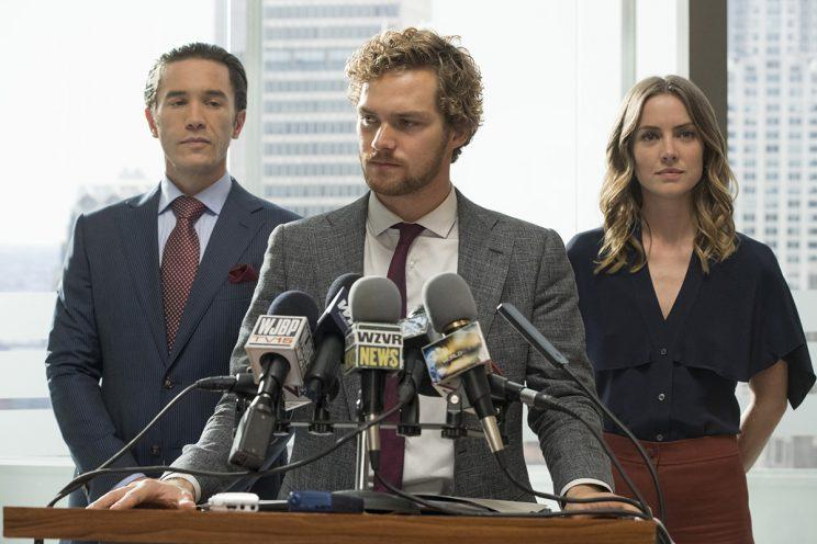 Iron FIst takes the fight to the boardroom - Credit: Netflix