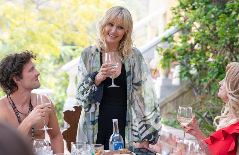 """Malin Akerman stars as a single mom and host to a dysfunctional get-together in """"Friendsgiving."""""""