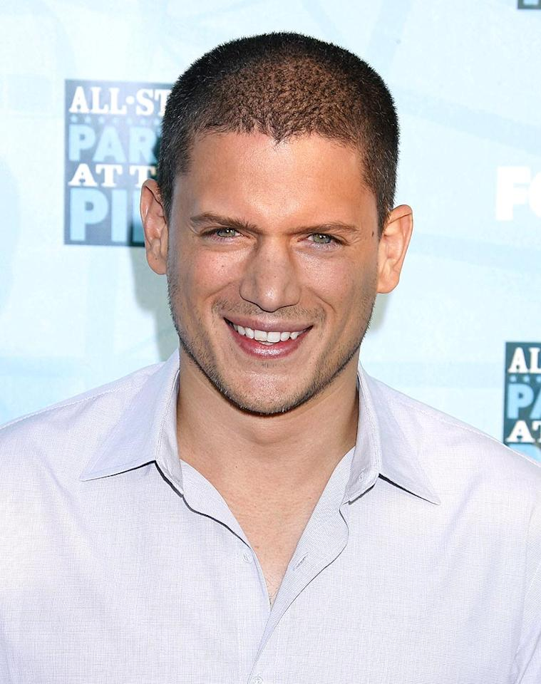 """""""Prison Break's"""" Wentworth Miller's lips are so sexy they're almost criminal. Jeffrey Mayer/<a href=""""http://www.wireimage.com"""" target=""""new"""">WireImage.com</a> - July 14, 2008"""