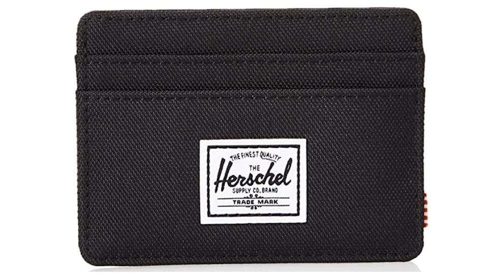 Herschel Supply Co. Mens Charlie RFID Blocking Card Holder Wallet. (Image via Amazon)