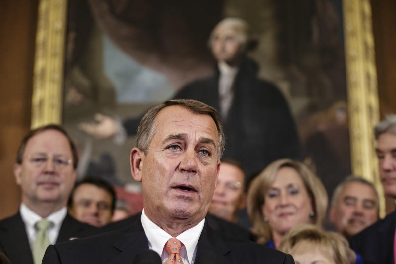 Boehner: Funding bill must include GOP priorities