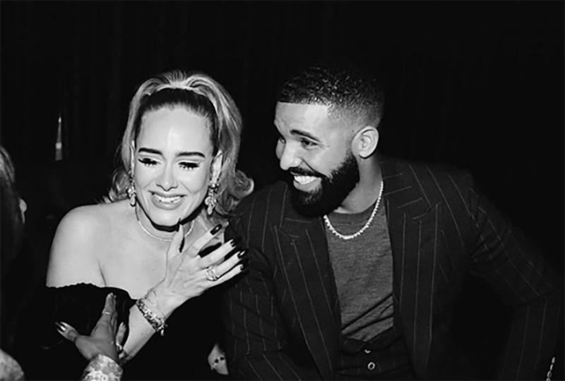 Adele and Drake (Instagram/champagnepapi)