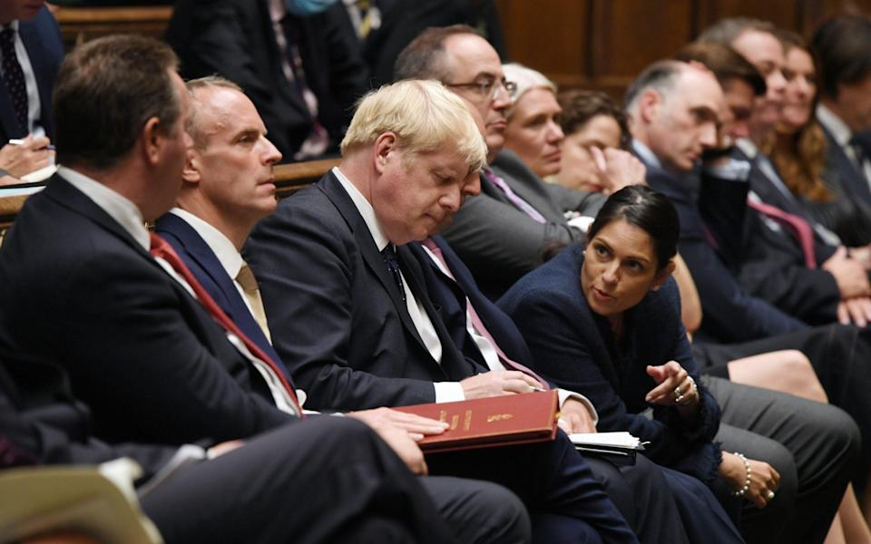 Priti Patel and Dominic Raab: Have the negative headlines been a case of No 10 'pitch-rolling' for their departure? - UK Parliament/Jessica Taylor
