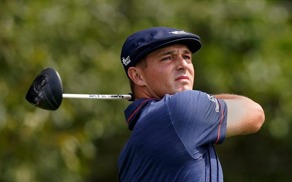 Bryson DeChambeau reveals he has 'wrecked hands' preparing for long drive contest before Ryder Cup - AP
