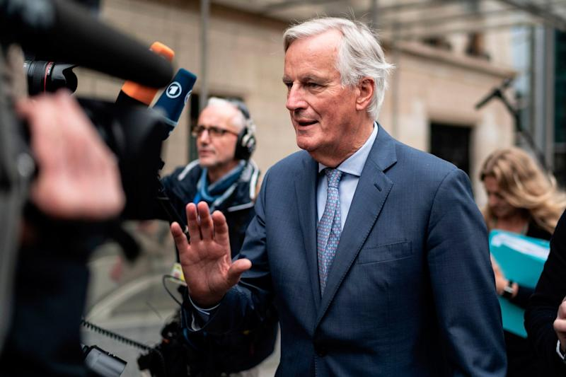Michel Barnier said a lot of work was needed for a deal (AFP via Getty Images)
