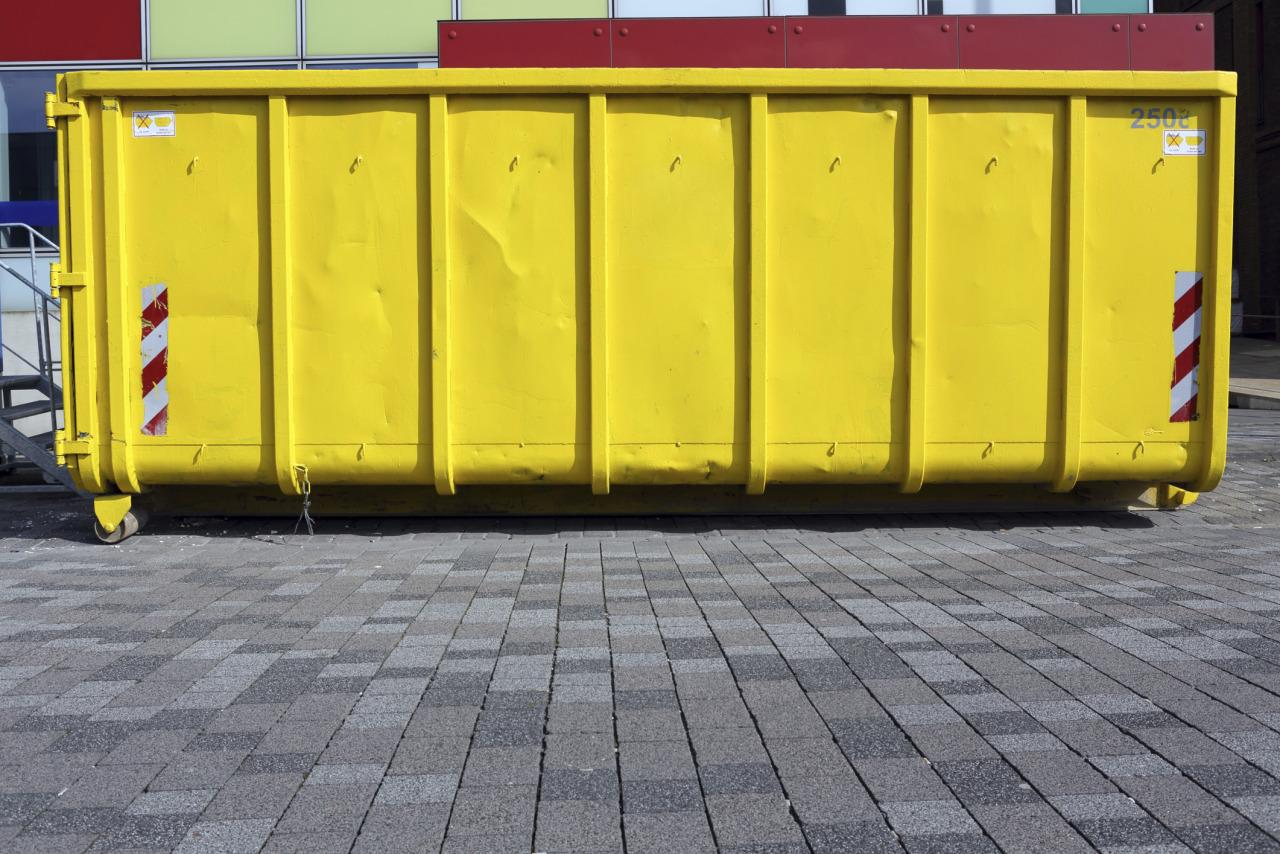 """<p>This file photo of a dumpster shows what sort of challenge Beese faced when he embarked on his project. But the price was right.""""You can get a dumpster for about $1,500 - $2,500,"""" Beese told the Times-Picayune.</p>"""