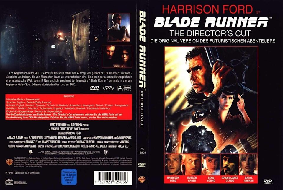 A new version of 'Blade Runner' was released in 1991 without approval of its director (Warner Bros.)