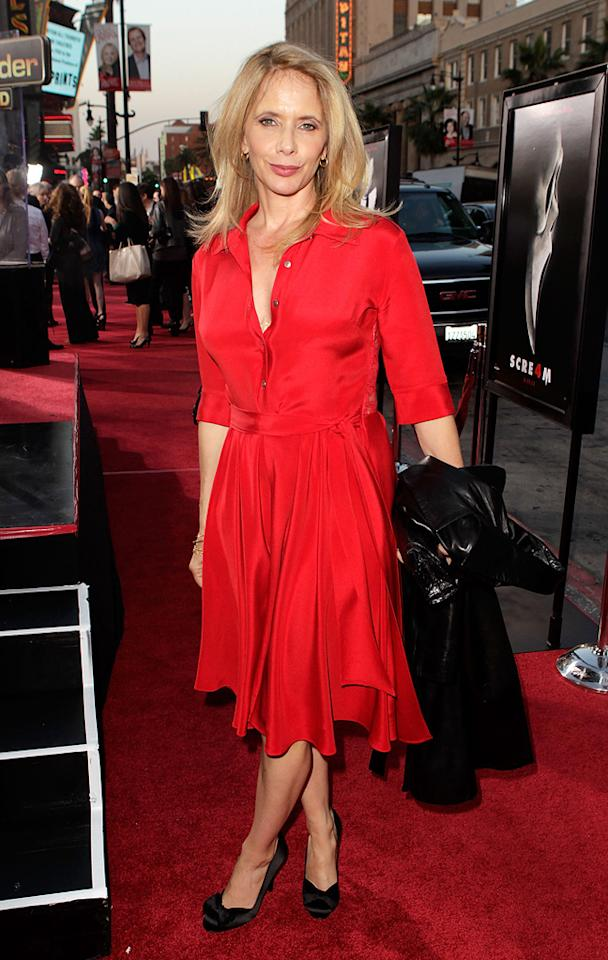 """David's other sister <a href=""""http://movies.yahoo.com/movie/contributor/1800011636"""">Rosanna Arquette</a> (""""Desperately Seeking Susan"""") was also on hand to support her little bro on his big night."""