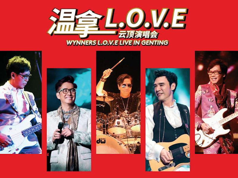 Hong Kong band The Wynners are performing at Resorts World Genting next month.