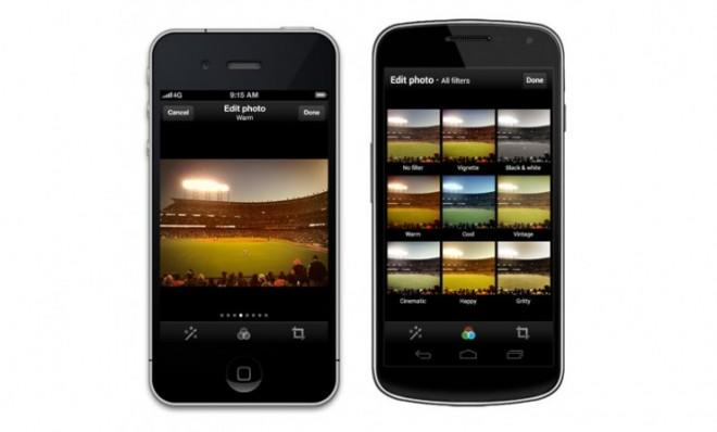 Now on Twitter: Add a hipster filter to your smartphone photos.