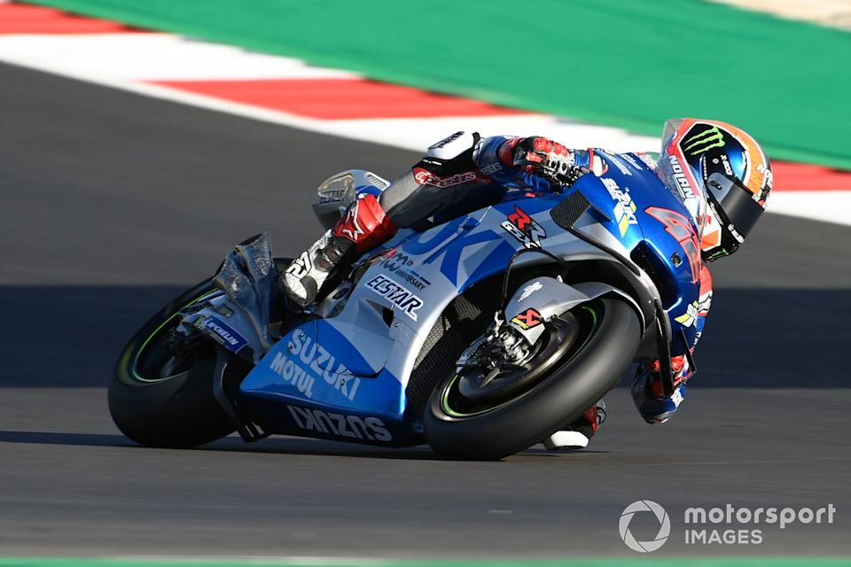 "P10 Alex Rins, Team Suzuki MotoGP<span class=""copyright"">Gold and Goose / Motorsport Images</span>"