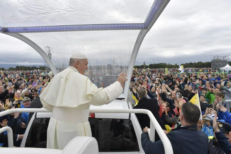 """Pope Francis """"begged for God's forgiveness"""" on Sunday for multiple abuse scandals within the Irish church but faced accusations by a former Vatican official that he had personally ignored allegations against senior clergy"""