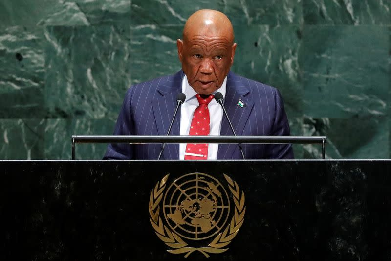 Lesotho PM Thabane says he intends to resign - SABC