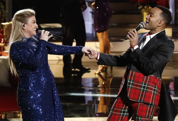 John Legend & Kelly Clarkson's 'Baby, It's Cold Outside' duet polarizes 'Voice' viewers