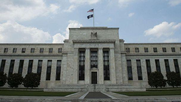 PHOTO: In this file photo taken on June 14, 2017, the U.S. Federal Reserve is seen in Washington. (Andrew Caballero-Reynolds/AFP/Getty Images, FILE)