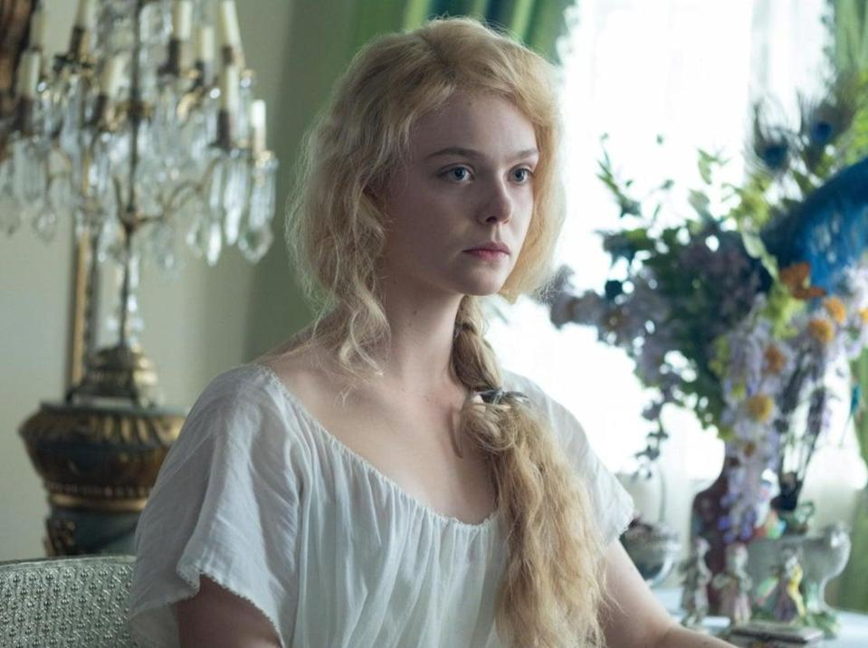 Elle Fanning as Catherine in The GreatHulu