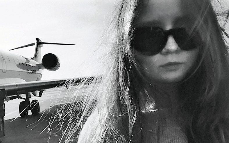 Anna lives a luxury lifestyle, flying all over the world