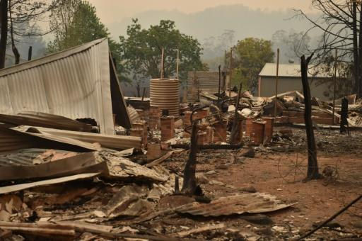 Some homes were completely burned to the ground in the small rural town of Bobin