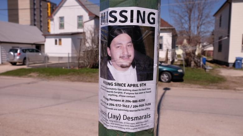 Family of missing Winnipeg man worried for his safety