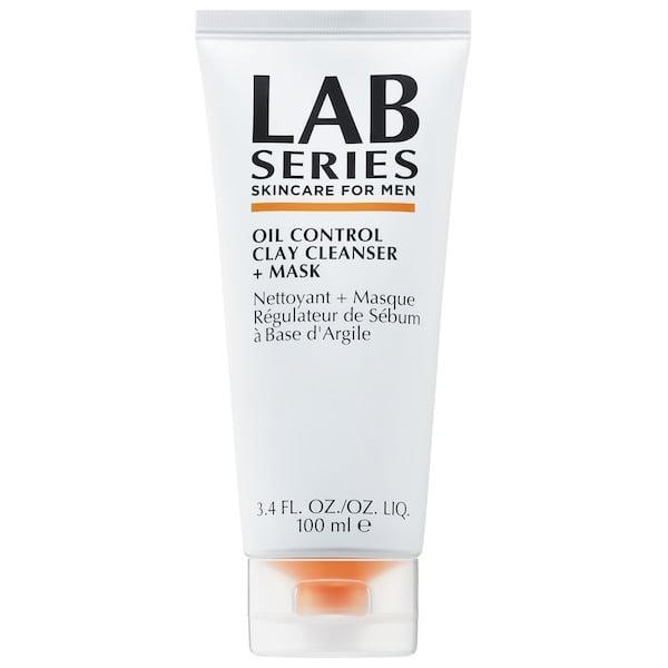 <p>Perhaps he wants his own special treat for your weekly joint self-care routine? No problem as this <span>Lab Series For Men Oil Control Clay Cleanser + Mask</span> ($26) takes on red, oily skin (and large pores) with Amazonian clay and an AHA/BHA blend to exfoliate. Or, if you're still <em>trying</em> to encourage him to take part in your masking habit, this one also does double-duty as a simple foaming cleanser instead.</p>
