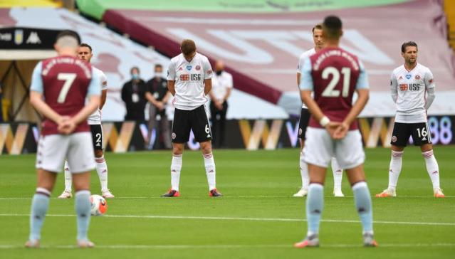 Premier League - Aston Villa v Sheffield United