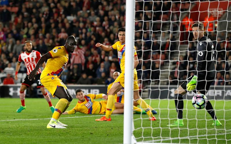 Nathan Redmond scores Southampton's equaliser - Credit: Reuters