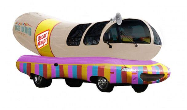 PHOTO: The Weinermobile will be decked out like an ice cream truck to celebrate the novelty. (Oscar Mayer)