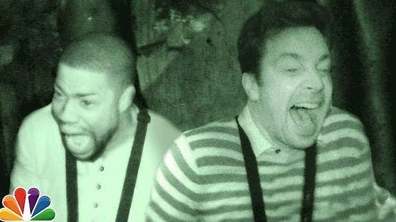 Kevin Hart got so scared in a haunted house with Jimmy ...