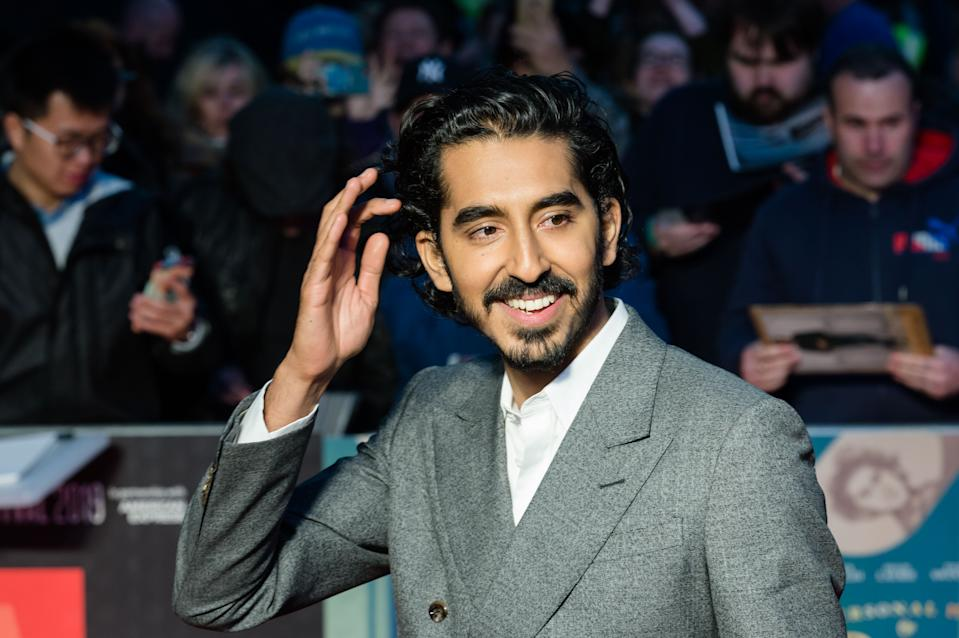 Dev Patel attends the European premiere of 'The Personal History of David Copperfield' during the BFI London Film Festival on 2 October, 2019. (Credit: Wiktor Szymanowicz/Barcroft Media via Getty Images)