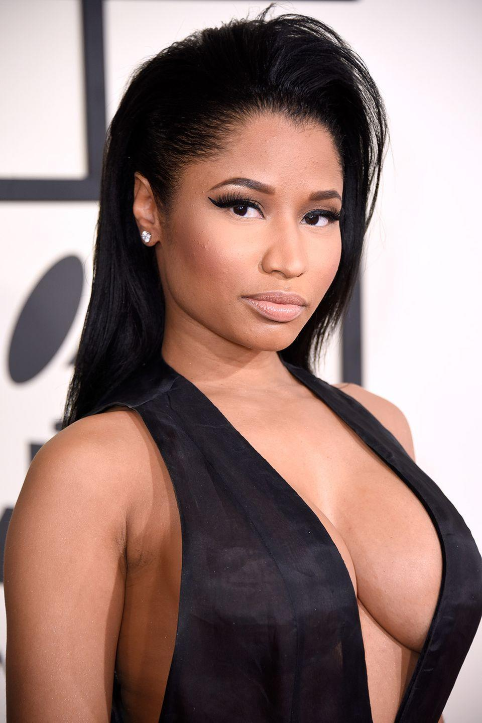 """<p><strong>Born</strong>: Onika Tanya Maraj</p><p>In a 2012 interview with <em><a href=""""https://www.theguardian.com/music/2012/apr/27/nicki-minaj-bigger-balls-than-the-boys"""" rel=""""nofollow noopener"""" target=""""_blank"""" data-ylk=""""slk:The Guardian"""" class=""""link rapid-noclick-resp"""">The Guardian</a></em>, the female rapper explained that she didn't even choose her stage name. """"Somebody changed my name,"""" she <a href=""""https://www.theguardian.com/music/2012/apr/27/nicki-minaj-bigger-balls-than-the-boys"""" rel=""""nofollow noopener"""" target=""""_blank"""" data-ylk=""""slk:told"""" class=""""link rapid-noclick-resp"""">told</a> the publication. """"One of the first production deals I signed, the guy wanted my name to be Minaj and I fought him tooth and nail. But he convinced me. I've always hated it."""" But around close family, the rapper added, she prefers to be called by her given name, Onika. """"My rule is, whatever you were calling me four years ago is what you should be calling me now, because I don't like it when my family or close friends call me Nicki Minaj,"""" she <a href=""""https://www.theguardian.com/music/2012/apr/27/nicki-minaj-bigger-balls-than-the-boys"""" rel=""""nofollow noopener"""" target=""""_blank"""" data-ylk=""""slk:explained"""" class=""""link rapid-noclick-resp"""">explained</a>. """"To me I'm not Nicki Minaj when I'm with them.""""</p>"""