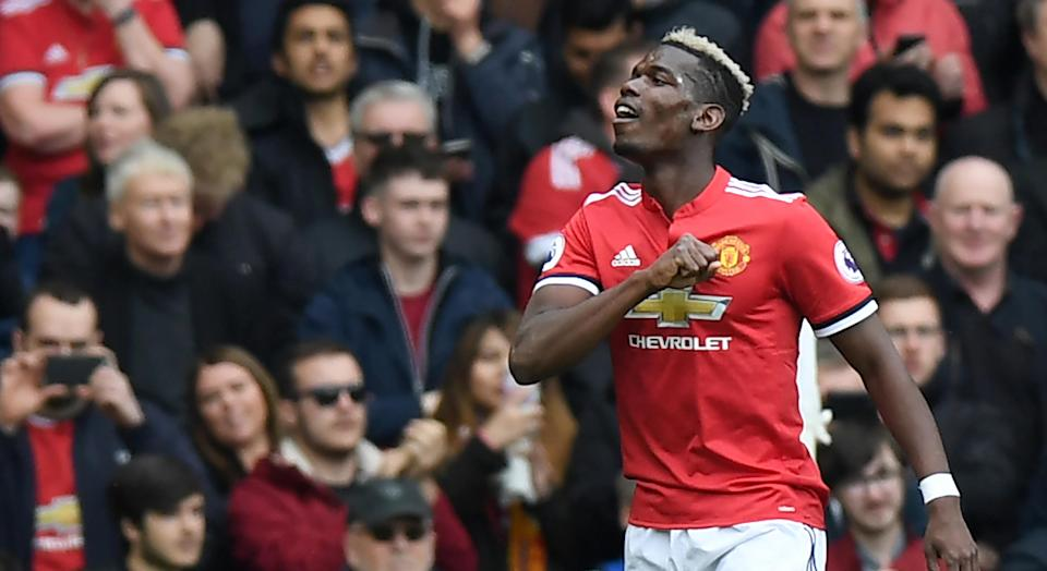 Paul Pogba has been directly involved in four of Manchester United's last seven goals with three goals and one assist.