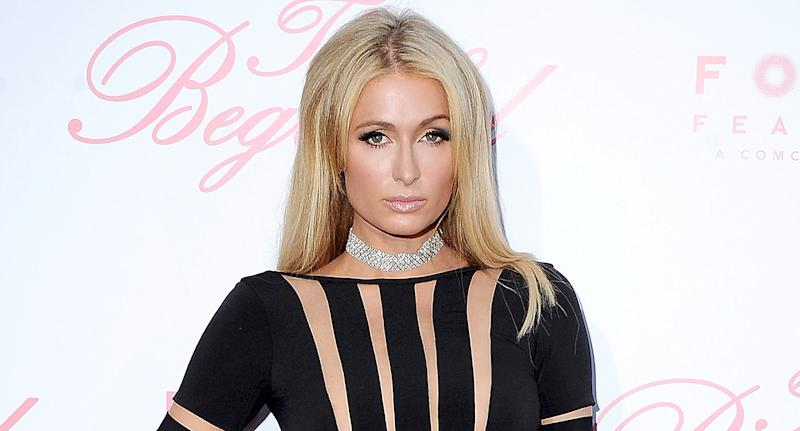 Paris Hilton attends a movie premiere in June. (Photo: Jon Kopaloff/FilmMagic)