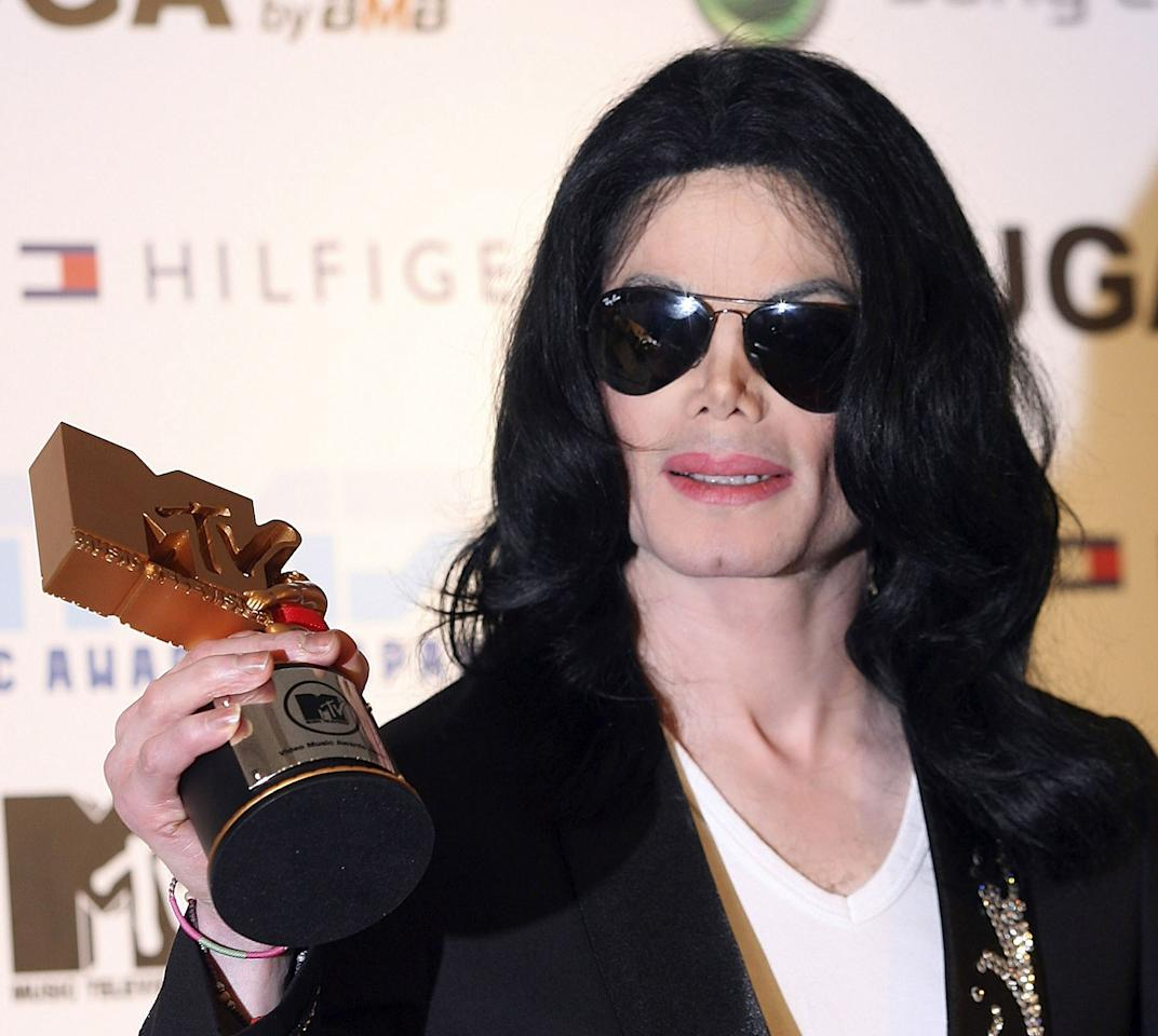 "<p>Would you believe, none? He was nominated for ""Thriller,"" ""Leave Me Alone,"" and ""Scream,"" but lost 'em all. (If the VMAs had launched one year earlier, Jackson would have won for ""Billie Jean"" or ""Beat It."") (Photo: Getty Images) </p>"