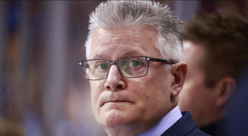 Both the Chicago Blackhawks and Marc Crawford have released statements about their current situation. (Photo by Jeff Vinnick/NHLI via Getty Images)
