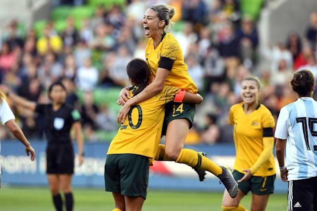 Australia and New Zealand are the first joint hosts of the women's World Cup (AFP Photo/WILLIAM WEST)
