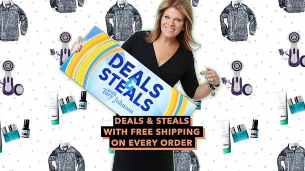 PHOTO: Deals & Steals with free shipping on every order (GMA, Dr. Brandt, Michael Todd, Sherpa Pullover)