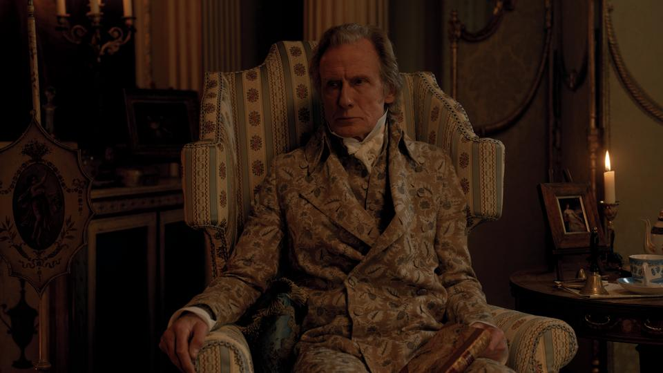 Bill Nighy as Emma's father, Mr. Woodhouse. (Photo: Focus Features)
