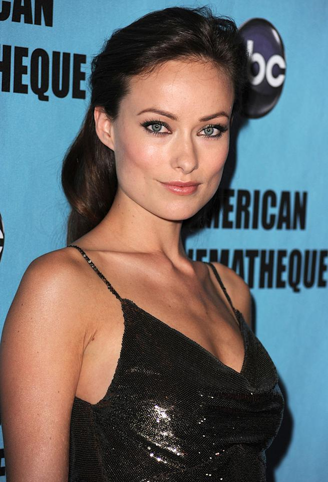 "<a href=""http://movies.yahoo.com/movie/contributor/1808489542"">Olivia Wilde</a> at the 24th American Cinematheque Annual Gala Honoring Matt Damon on March 27, 2010."