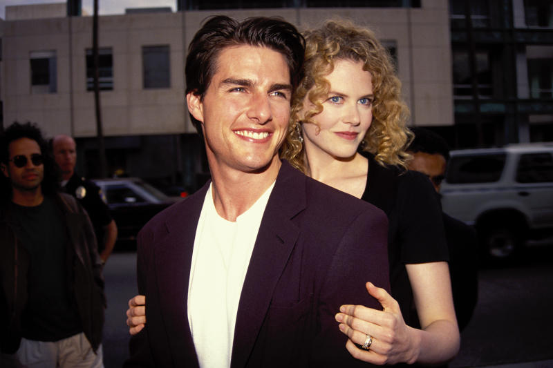 Nicole Kidman says marriage to Tom Cruise