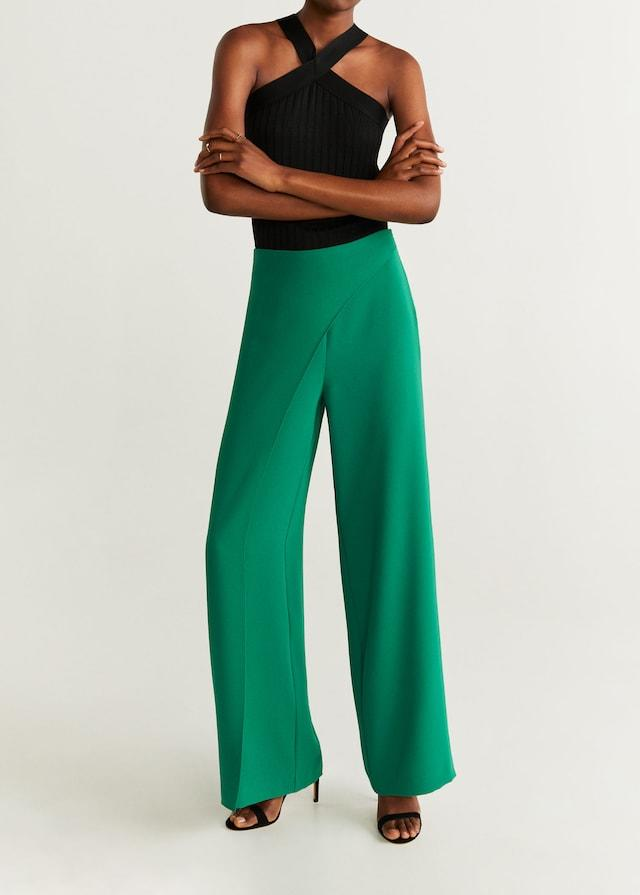 Mango double layer trousers. (Credit: Mango)