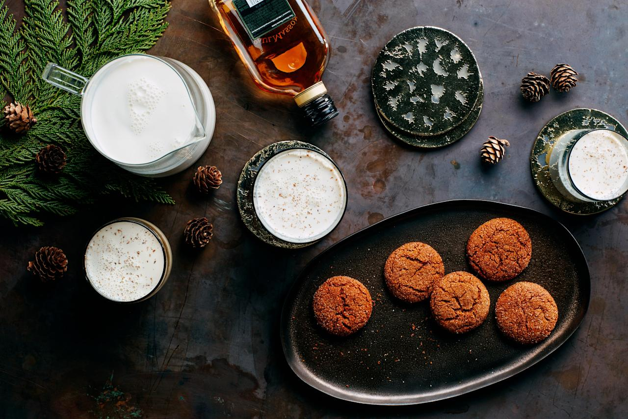 """Try this frothy, creamy cocktail instead of eggnog to kick off your Christmas festivities. <a href=""""https://www.epicurious.com/recipes/food/views/mikes-milk-punch-201243?mbid=synd_yahoo_rss"""">See recipe.</a>"""