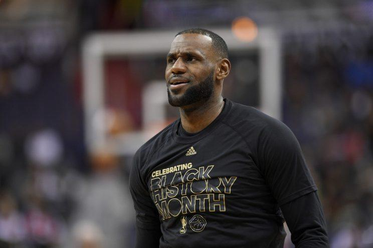 LeBron James has been to six straight NBA Finals. (AP)
