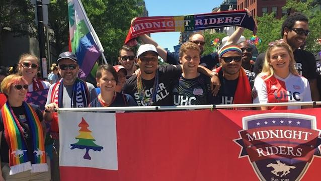 The Revs will hold their third annual Pride Night this Saturday, but it won't be the first time the team has taken part in pride activities during the month of June.